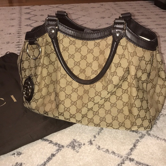 edd682cc1ac9b7 Gucci Bags | Canvas Purse | Poshmark